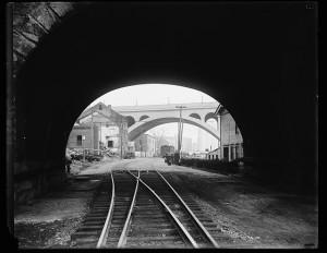 Aqueduct Bridge vignette, ca 1930