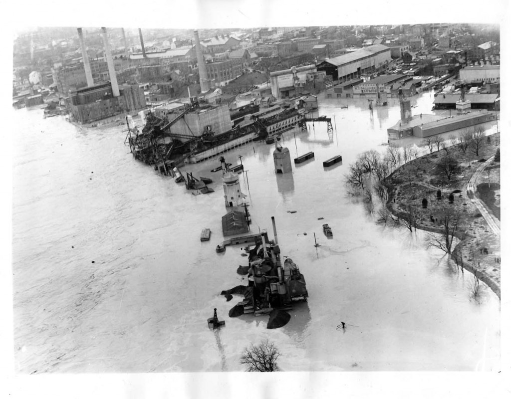 March 19, 1936, Georgetown Flooded