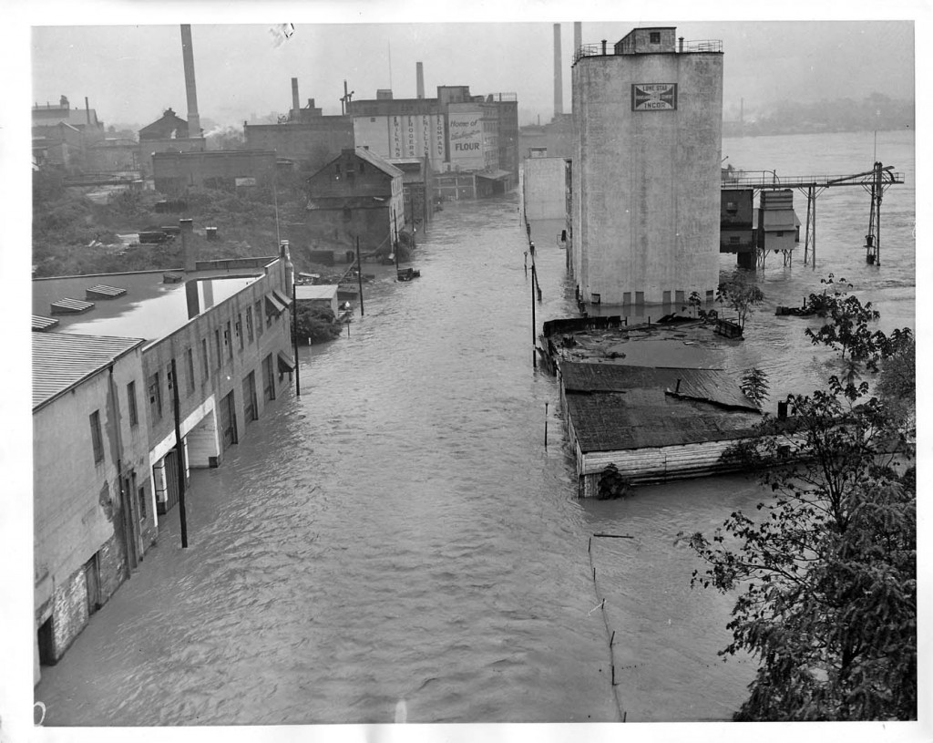 October 17, 1942, District of Columbia Flooded