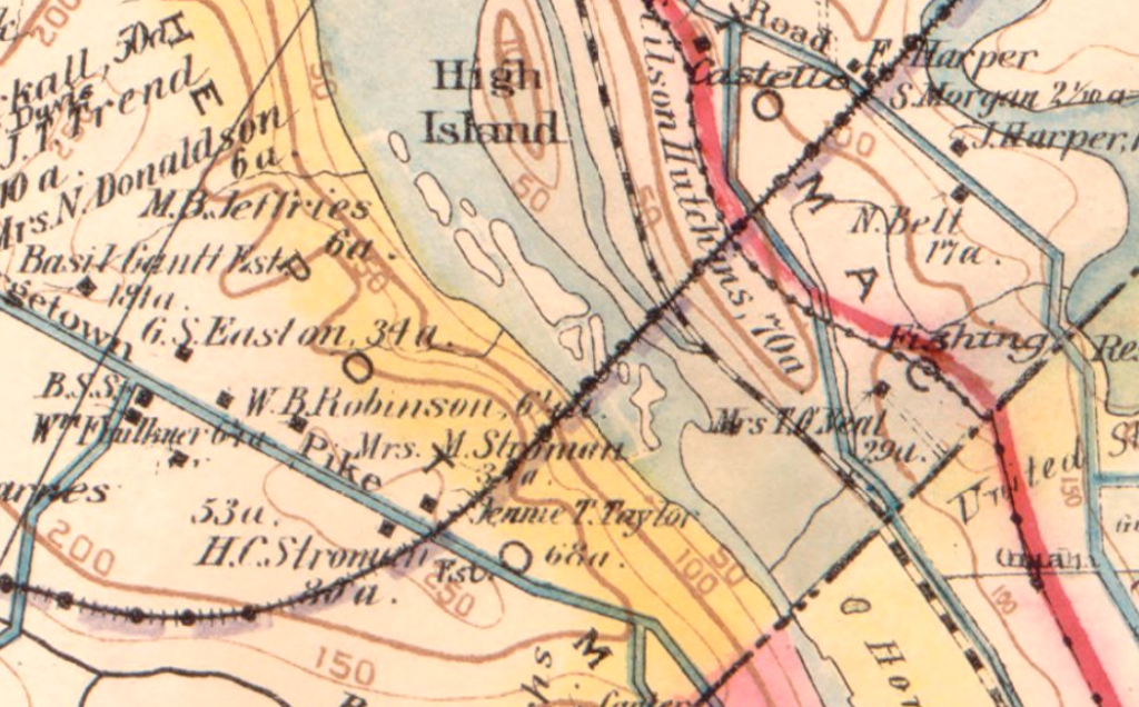 Baist's map of the vicinity of Washington D.C.