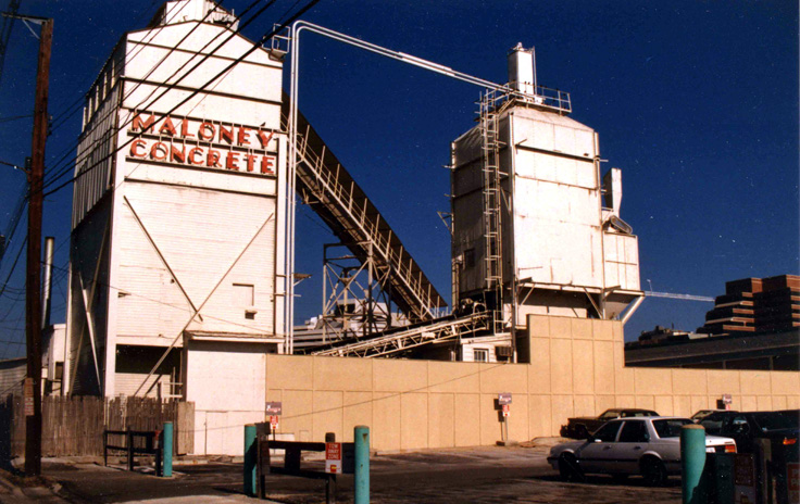 Maloney Concrete, early 1980s. M. Vurek photo.