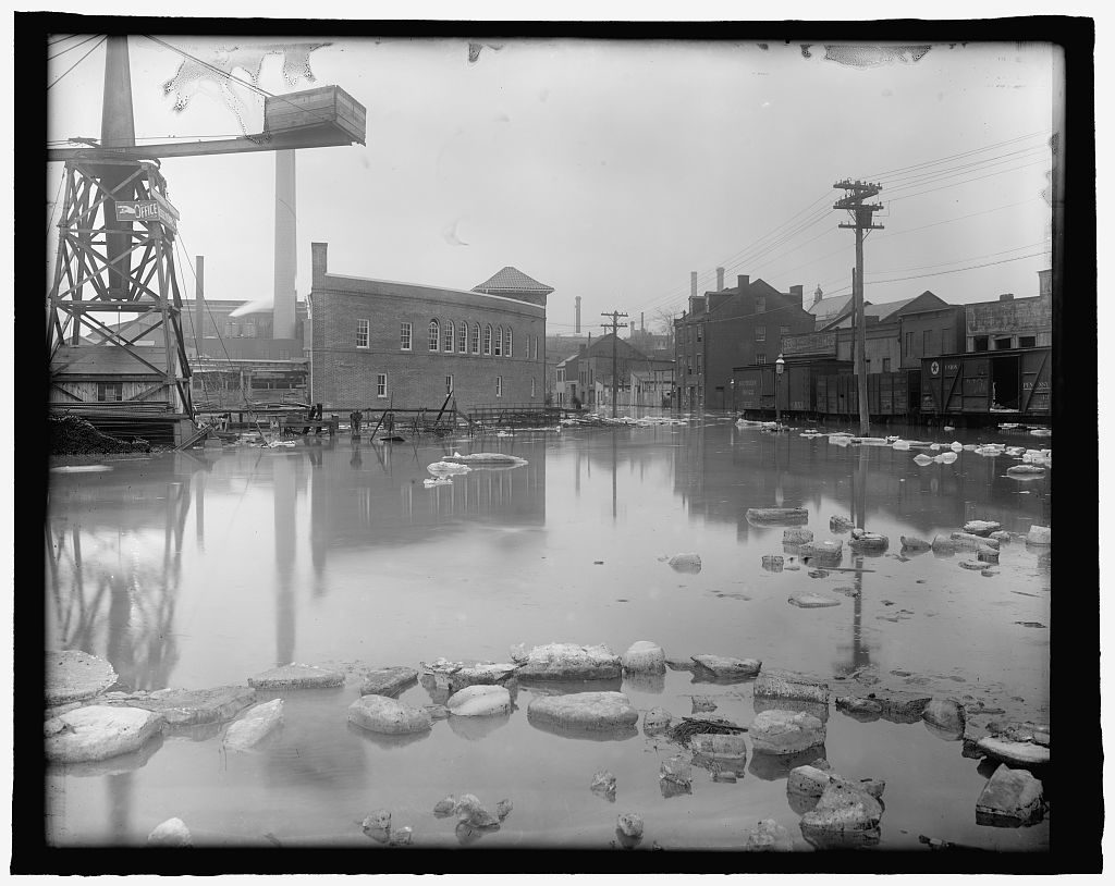 Flood, Wash., D.C., Feb. 1918