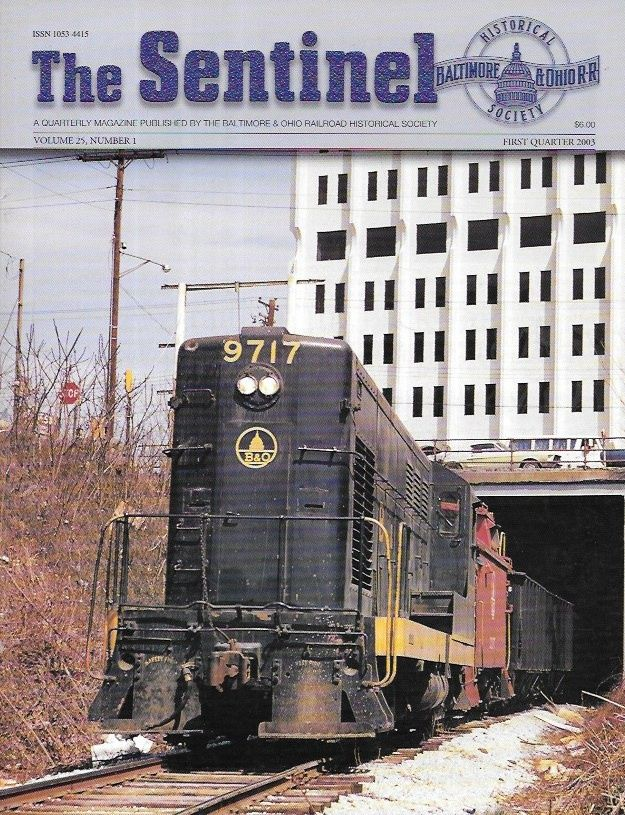The Sentinel, Volume 25 Number 1, 2003