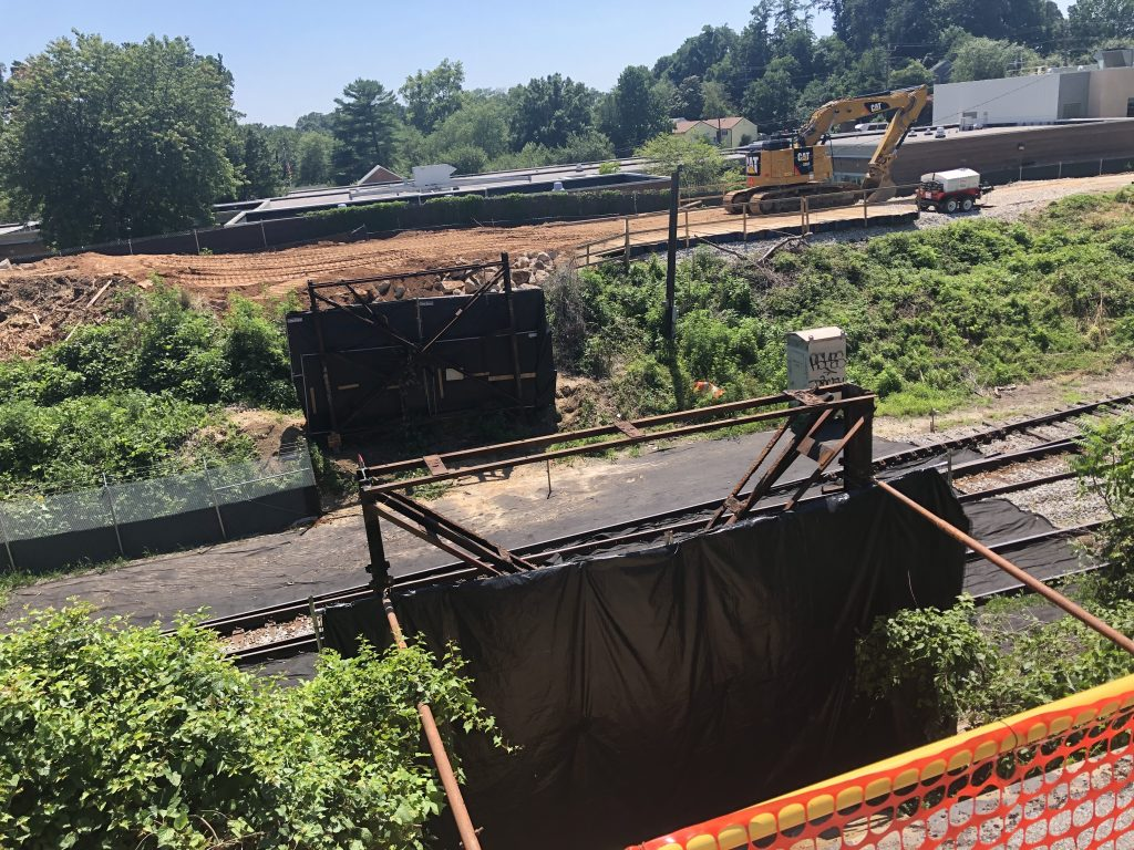 Talbot Ave bridge removal.