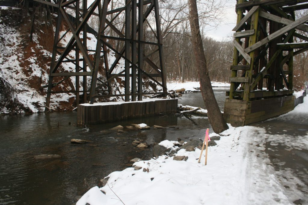 Jan 16, 2019: B&O Rock Creek Trestle